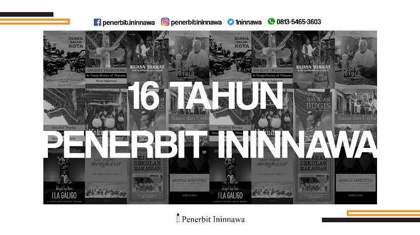 16 Tahun Penerbit Ininnawa